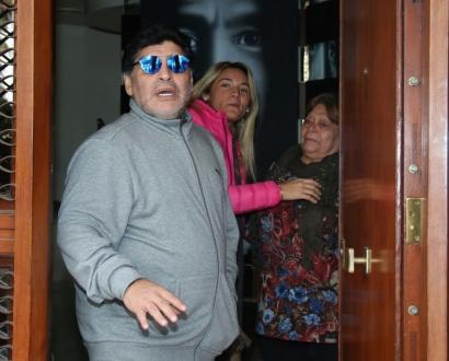 Rocío Oliva echó a Diego Maradona de su casa