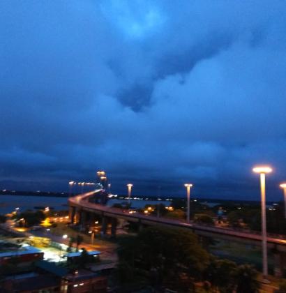La tormenta sobre Corrientes