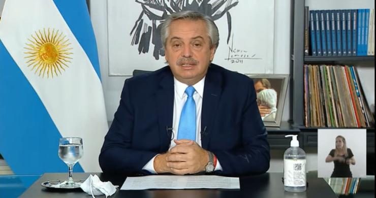 Alberto Fernández anunció las medidas restrictivas para el AMBA: Circulación restringida y clases virtuales