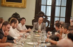 Canteros recibió a emprendedores del Nea y Paraguay