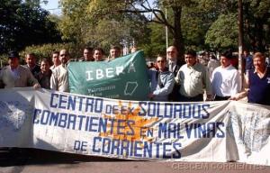 Ex combatientes correntinos frenaron la llegada de un militar inglés a San Roque