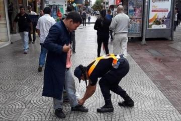 Historia viral Corrientes Policia