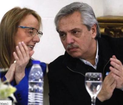 Primera actividad de Alberto Fernández como precandidato: Desayuno con Alicia Kirchner