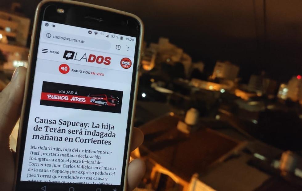 La Dos ratifica su liderazgo: El medio digital más leído en agosto en Corrientes