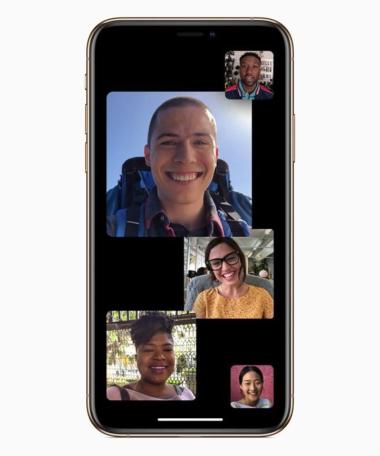 Iphone. Facetime
