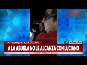 """Abuela busca a """"Luciano Castro en bolas"""""""