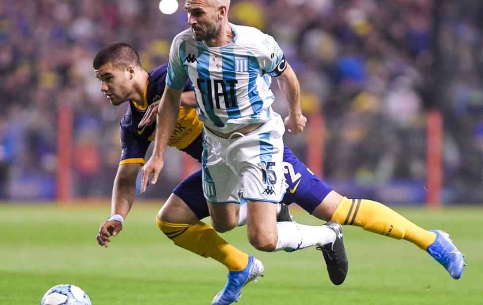 Superliga: Racing venció a un desconocido Boca 1 a 0