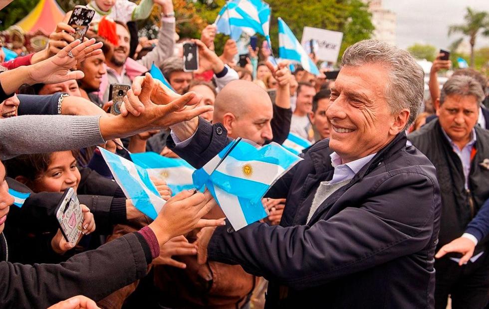 """Macri: """"No nos vamos a quedar callados viendo como nos roban el futuro"""""""