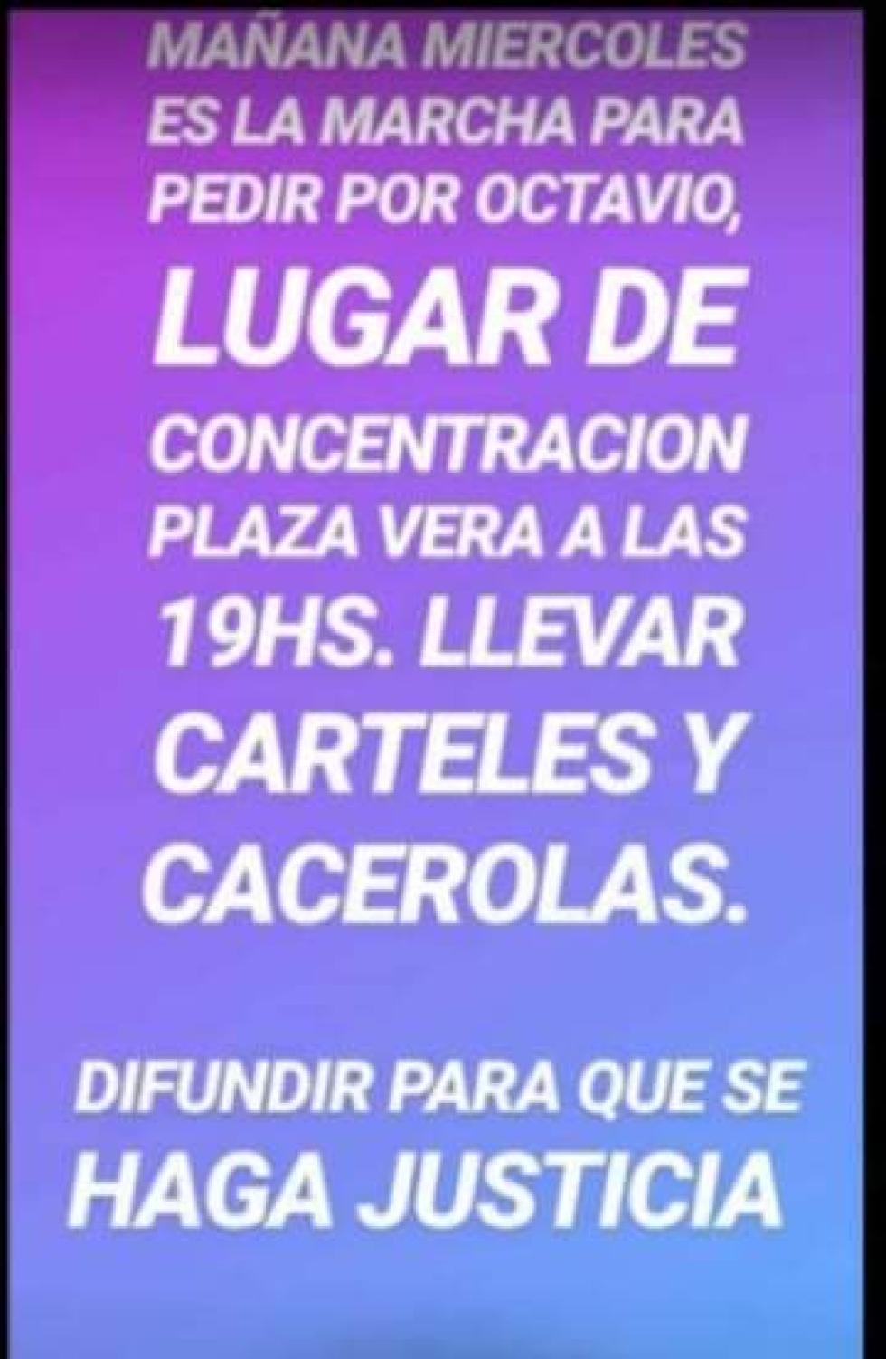 Marcha Octavio Corrientes