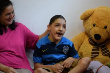 Rodrigo, el nuevo hijo del Cottolengo de Itatí que necesita al ayuda de todos