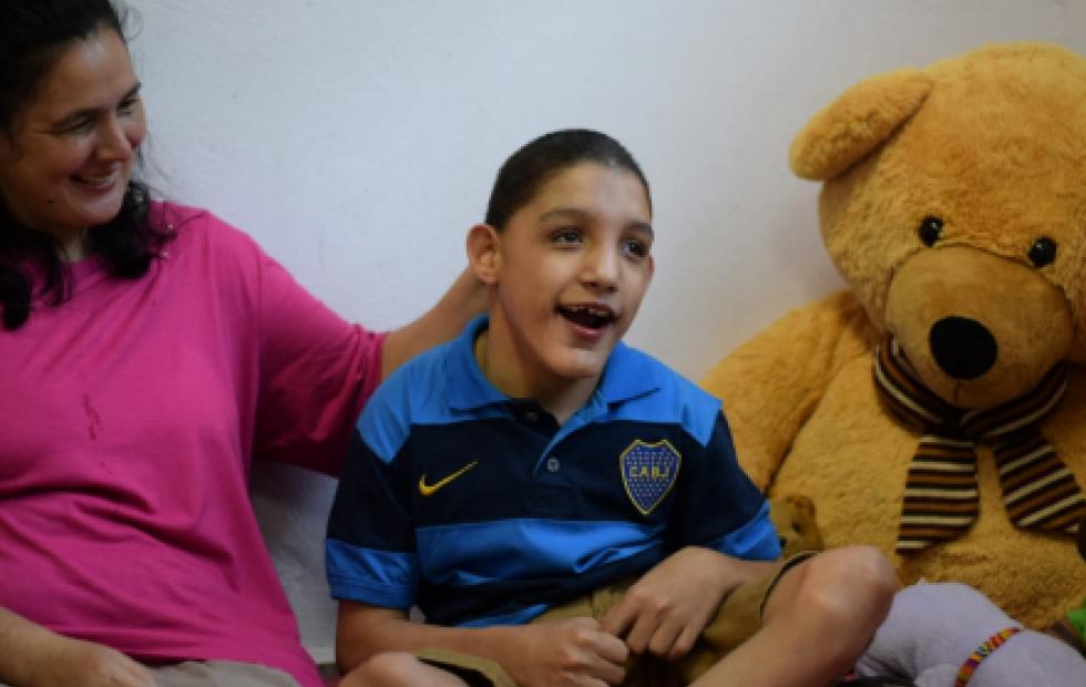 Rodrigo, el nuevo hijo del Cottolengo de Itatí que necesita la ayuda de todos