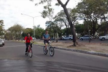 Correntinos y turistas podrán disfrutar de paseos en bicicletas gratis por la costanera