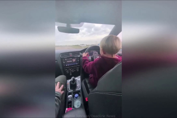 Amazing moment boy, 6, executes perfect launch control in 155mph motor