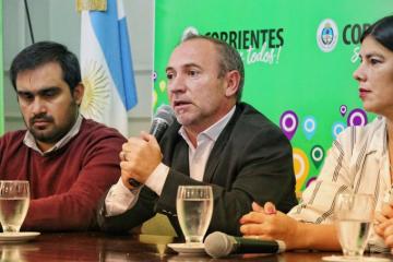 Adán Gaya. Ministro de Desarrollo Social de Corrientes