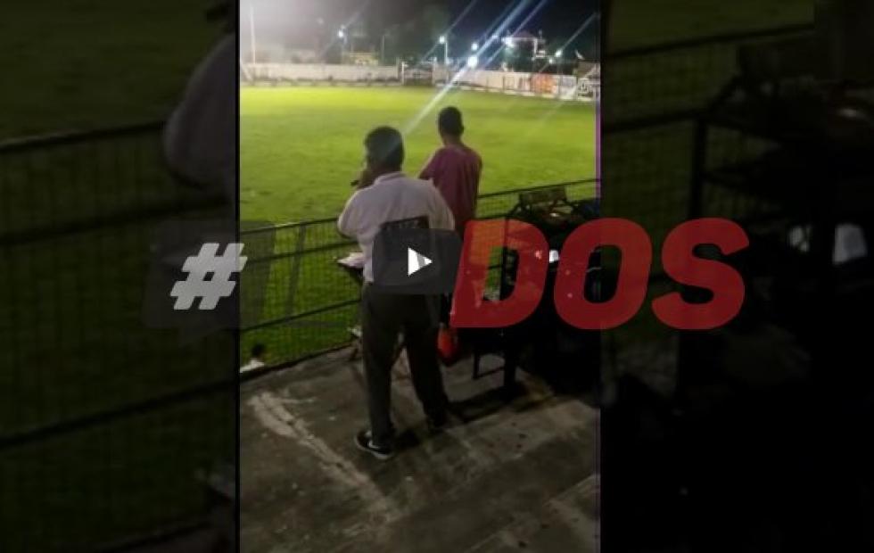 Video viral: El relato de un veterano locutor correntino que es la voz de un estadio