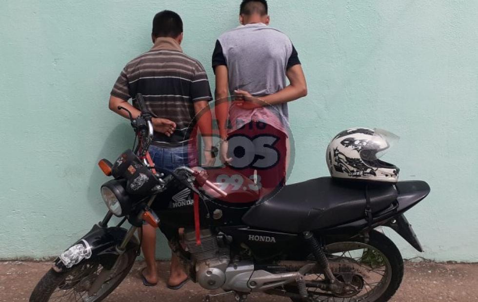Detuvieron a los violentos delincuentes que golpearon a una mujer en Molina Punta