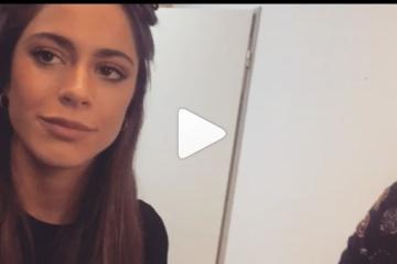 Video viral: El emotivo mensaje de apoyo de Tini Stoessel a una joven correntina