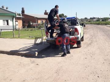 Violento asalto a remisero correntino a metros del asentamiento La Olla