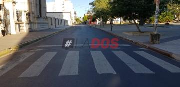 Corrientes desierta: Postales de una ciudad vacía por la cuarentena y el feriado
