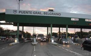 Falleció un motociclista en el puente General Belgrano tras sufrir un infarto