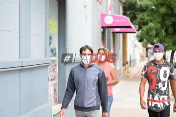 Coronavirus en Corrientes: Las postales de una ciudad con barbijos