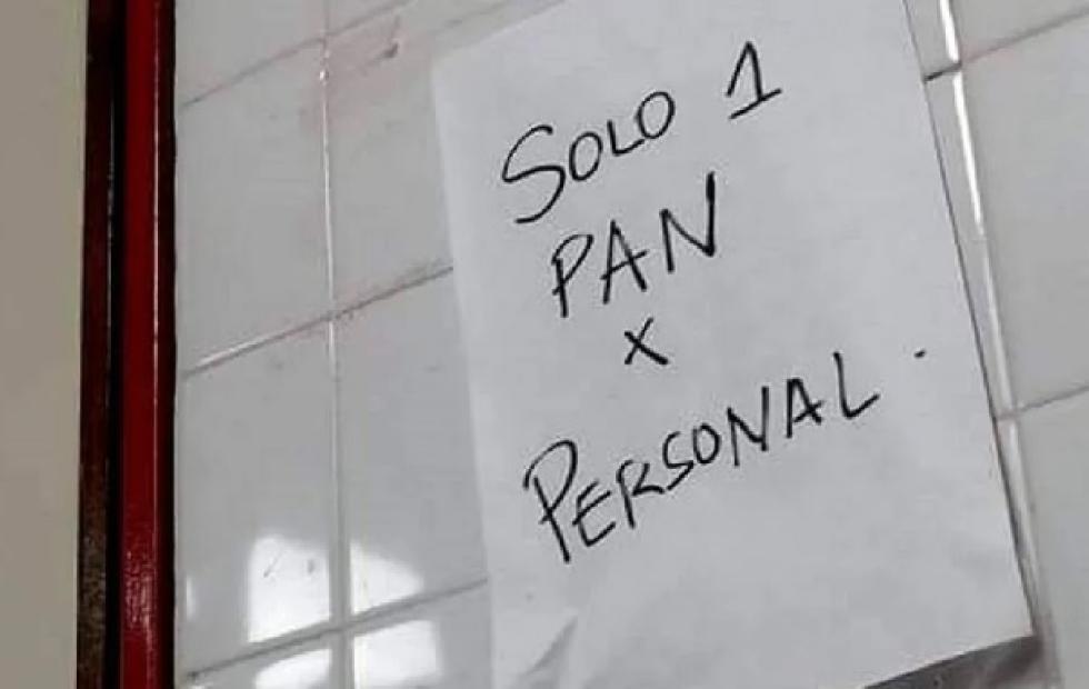 Chaco: denuncian que racionan el pan al personal de Salud en el Perrando