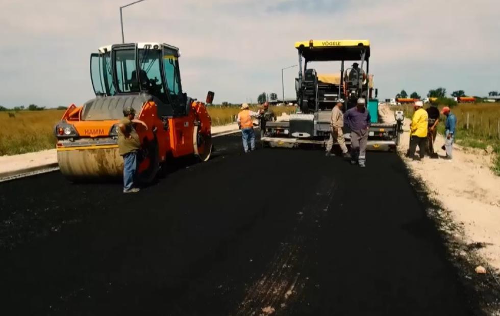 Empedrado: La Provincia concluyó el asfalto y obras complementarias en el acceso Sur