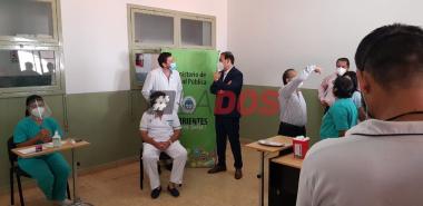 Vacunacion en Corrientes