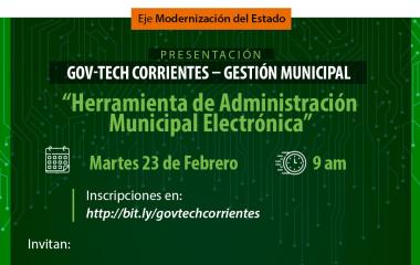 El gobierno provincial presenta una innovadora herramienta para administrar los municipios