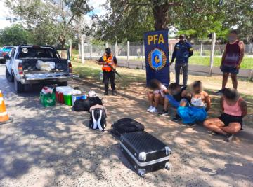 Policia Federal Corrientes procedimiento