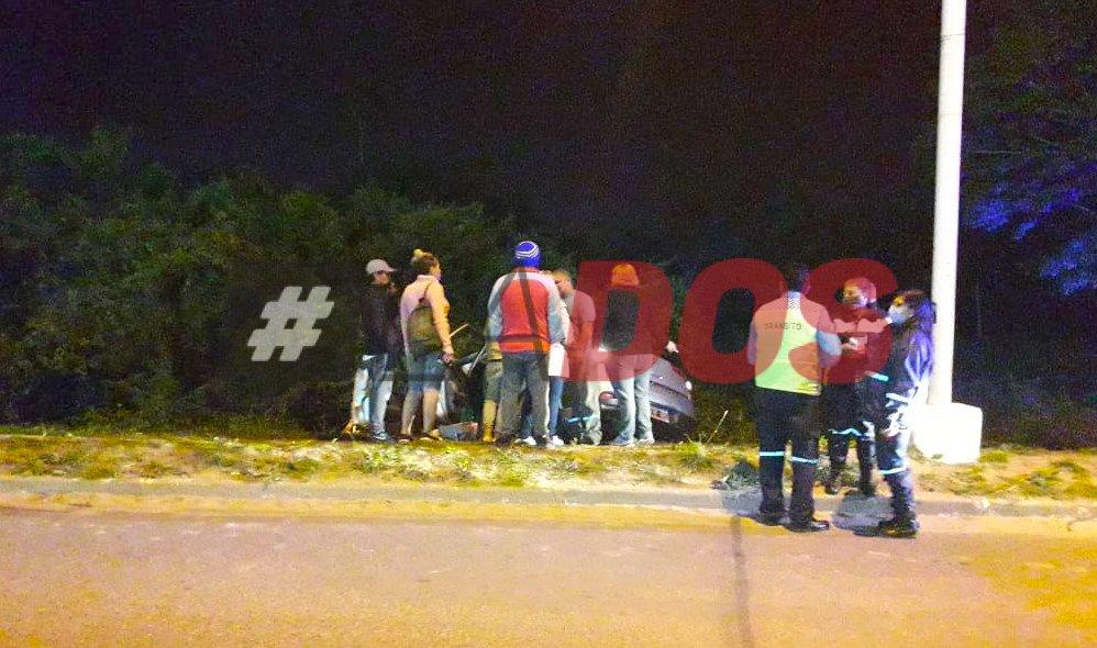 Siniestro vial avenida Maipú