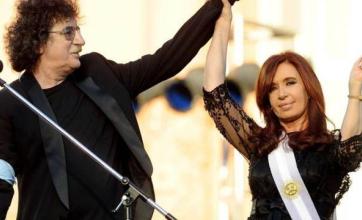 El saludo de Cristina Kirchner a Charly García por su cumpleaños