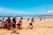 Juveniles de Taraguy entrenaron en tierras sudafricanas previo al primer partido de la gira
