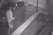 Video Insólito: Robó una casa y se llevó tres palas, un pico y una amoladora