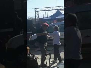 Se le cayó la bailarina a José Luis Ramón