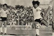 Deportes en el recuerdo: El día que Maradona y Alonso jugaron juntos en Corrientes