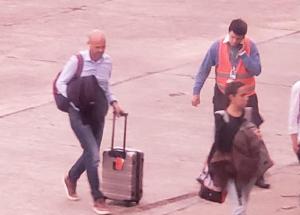 """Valdés junto a Dietrich: """"somos gente agradecida con los que no se olvidan de Corrientes"""""""