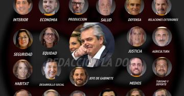 Interactivo: El gabinete de 21 ministros que tendrá Alberto Fernández  copy
