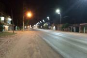 Comenzó a funcionar la nueva iluminación de la ciudad