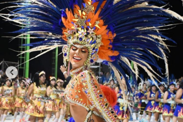 Las infartantes fotos y videos de Dayana Reichembach en el Carnaval de Corrientes
