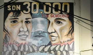 Corrientes: siguen los ataques negacionistas contra murales en homenaje a las víctimas de la última dictadura cívico-militar copy