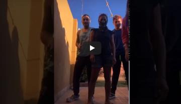 """Video viral: Familiares de un infectado de coronavirus en Chaco cantan""""si pasas por al lado, te tosemos"""""""