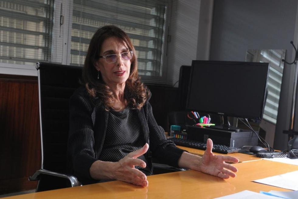 La ministra de Desarrollo Territorial y Hábitat de la Nación, María Eugenia Bielsa