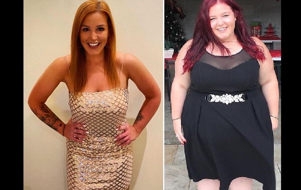 """Impactante cambio físico: pesaba 145 kilos, tenía obesidad mórbida, pero dejó a su """"novio tóxico"""" y se transformó"""