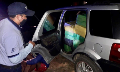 Corrientes: Prefectura detuvo a un hombre e incautó un cargamento de más de 587 Kilos de marihuana