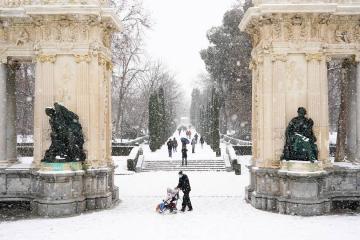 Nieve España 2021