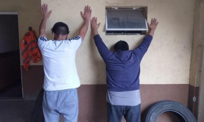 Persecución: conducían en contramano y trataron de darse a la fuga de la Policía