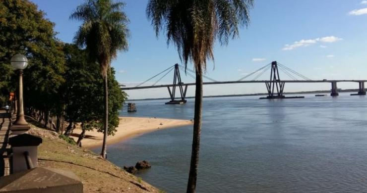 El río Paraná tuvo un considerable repunte gracias a las precipitaciones, pero podría volver a descender