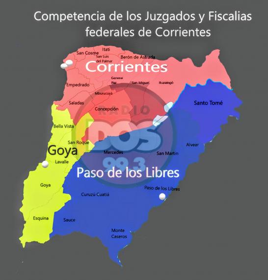 Mapa justicia