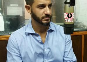 """Matías Tombolini, en La Dos: """"El problema más urgente que tenemos es el empleo"""""""